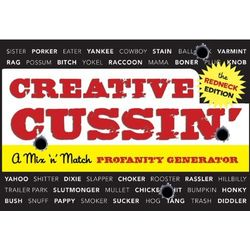 Creative Cussin': A Mix 'n' Match Profanity Gener Book