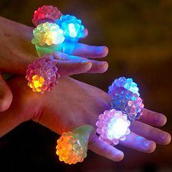 Flashing Finger Rings