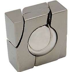 Hanayama Cast Marble and Metal Puzzle