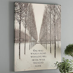 """The Road Walked With Love"" Wall Art"