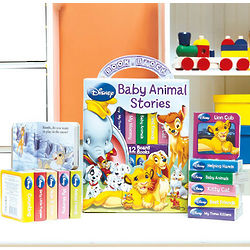 Disney Baby Animals Books In Carry Case