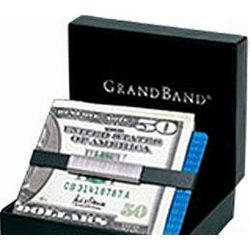 Sterling Silver Pinstripes Money Grand Band