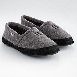 Men's Fleece Spa Slippers