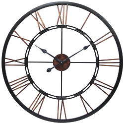 "28"" Metal Fusion Wall Clock"