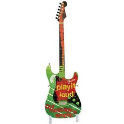 GuitarMania Miniature Guitar Play It Loud Figurine