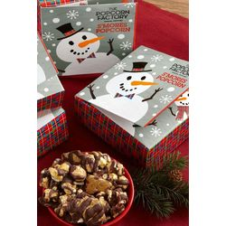 S'mores Popcorn in Snowtime Book Gift Boxes