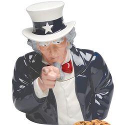 Uncle Sam Cookie Jar