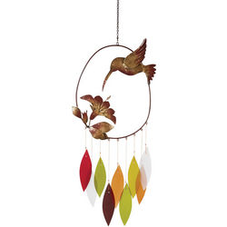 Handcrafted Hummingbird Wind Chime