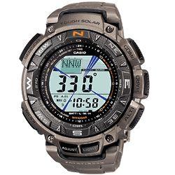 Titanium Altimeter Compass Pilot Watch