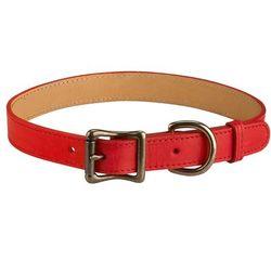 Italian Leather Large Dog Collar