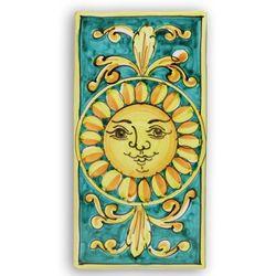 Italian Sun Indoor / Outdoor Ceramic Plaque