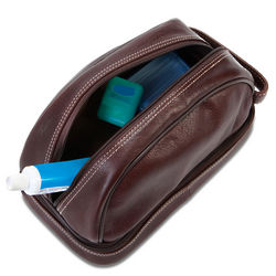 GI's Leather Dopp Kit