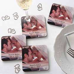 Our Special Day Photo Coaster Set