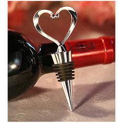 Heart Shaped Wine Bottle Stopper