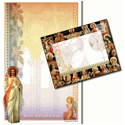 Divine Mercy Stationery