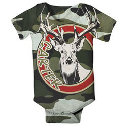 Personalized Camouflage Snap Tee