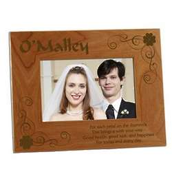 Irish Blessing Photo Frame