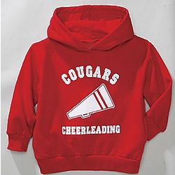 Youth's Personalized Sports Hoodie