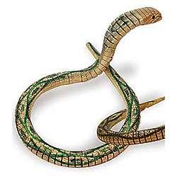 Articulated Wooden Cobra