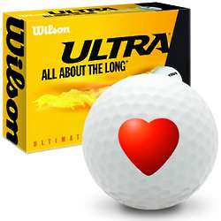 Heart Ultimate Distance Golf Balls