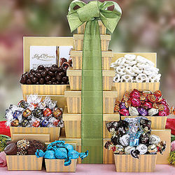 Chocolate Truffle Gift Tower