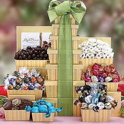 Chocolate Truffle Gift Tower