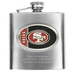 San Francisco 49ers Flask