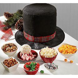 Treat-Filled Frosty Hat