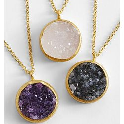 Artisan Crafted Druzy Necklace