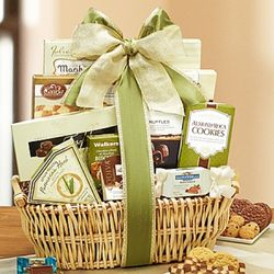 Touch of Spring Snacks Gift Basket