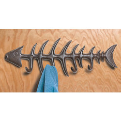 Fishbone Wall Hanger