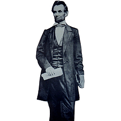 Abraham Lincoln Cutout 300