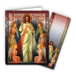 Divine Mercy Note Cards with Bookmarks