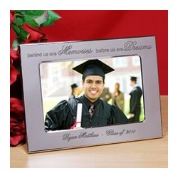 Personalized Before Us Are Dreams Silver Frame