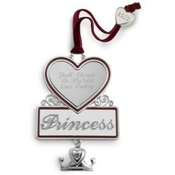 Princess Christmas Ornament