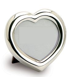 Heart Sterling Silver Frame