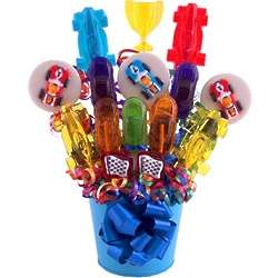 Speed Racer Lollipop Bouquet