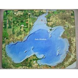 Madison Lakes Glass Cutting Board