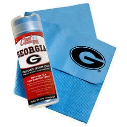 University of Georgia Cool Comfort Tennis Towel