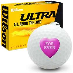 Candy Heart Forever Ultimate Distance Golf Balls