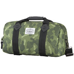 Green Furry Camo Mini Duffaluffagus Duffle Bag