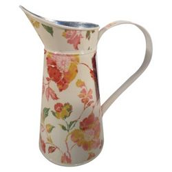 Multicolor Galvanized Steel Watering Pitcher