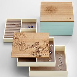 Modular Wood Jewelry Box