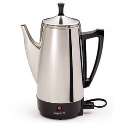 6 Cup Stainless Steel Coffee Maker