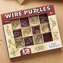 Silvertone Wire Puzzles