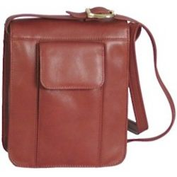 Soft Sided Leather Satchel