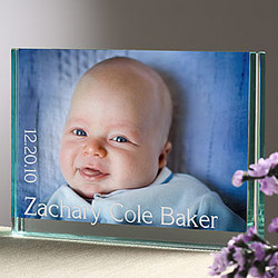 Just for Baby Personalized Photo Block