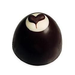Chocolate Heart Truffle Bon Bons