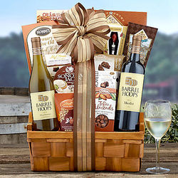 Barrel Hoops Wine Company Assortment Gift Basket