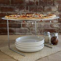Pizzeria Pizza Pan and Stand Set